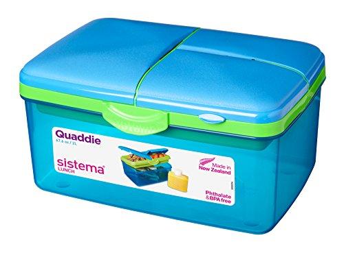 Frischhaltebox Quaddie, 2 L, Farblich sortiert