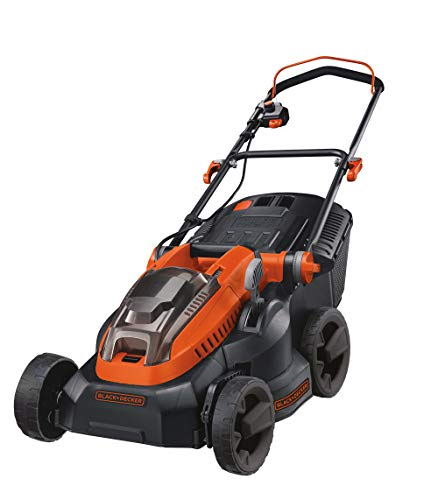 BLACK+DECKER CLM3820L1-QW Tondeuse à Gazon sans fil, 36V, Orange,