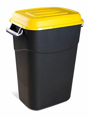 Tayg 410017 Contenedor de residuos Eco 95L Am, Amarillo
