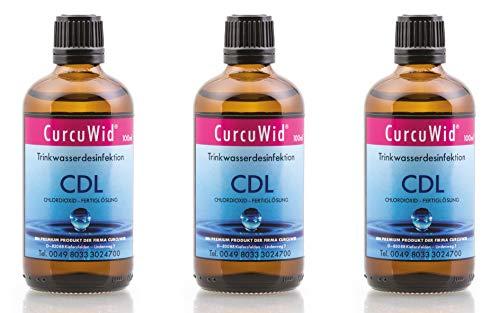 CurcuWid 3 x CDL/CDs Chlordioxid Fertiglösung 0,3%