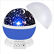 N \ A Star Night Light for Kids,Baby Moon Projector 360 Degree Rotating Romantic Night Lighting Lamp...