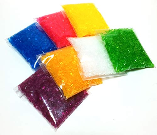 綿菓子用 カラーザラメ 7色セット 各100g入