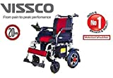 CosmoCare Vissco Zip Lite Power Wheelchair with Double Battery