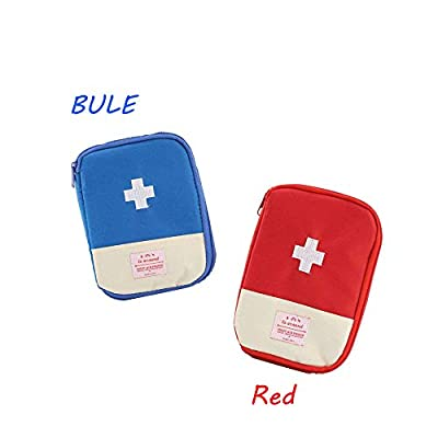 First Aid Pouch Bag Mini Portable Medicine Storage Bag for Outdoor Camping Hiking