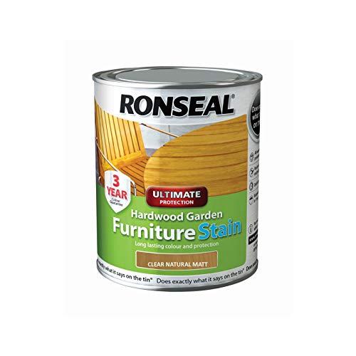 Ronseal HWFSNM750 Hardwood FurnIture Stain Natural Matt 750ml