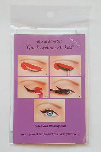 Quick Make-up Eyeliner Stickies MIXED SET, 32 Stück