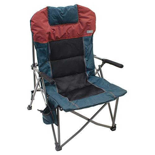 Rio Gear Deluxe Hard Arm Quad Folding Camp Chair