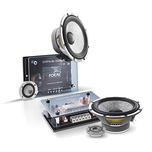 "Focal Kit165W-RC 6.5"" 2-Way Component System (w/Crossover), RMS: 80W - MAX: 160W"