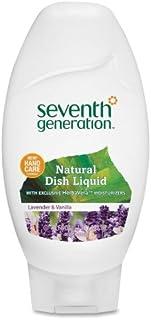 Seventh Generation Natural Dish Detergent Lavender and Vanilla 18 Oz.