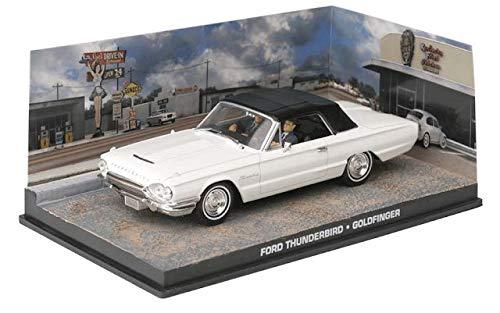 James Bond - 1/43 Ford Thunderbird (Goldfinger)