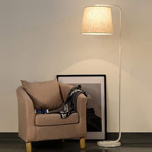 LY88 Licht Europese Creatieve IJzeren Vloerlampen E27 Stand Licht Woonkamer Nachtkastje Leeslamp Moderne Decoratieve Verlichting 0615P Kleur: Wit