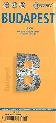 Budapest 1 : 11 000 (Borch Map)