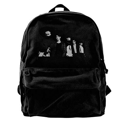 Yuanmeiju Canvas Rucksack Shinee Canvas Unisex Adults Laptop Backpack