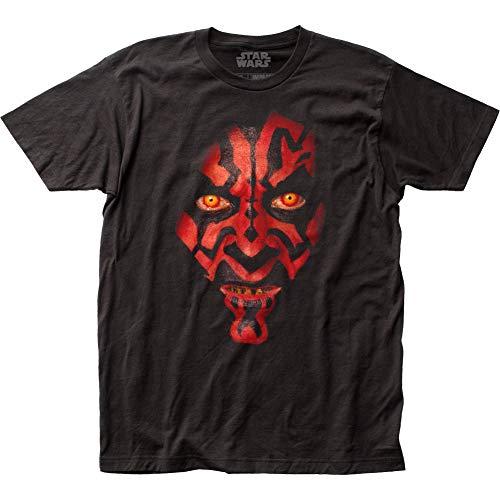 Star Wars Darth Maul Face T-Shirt 2XLarge Black