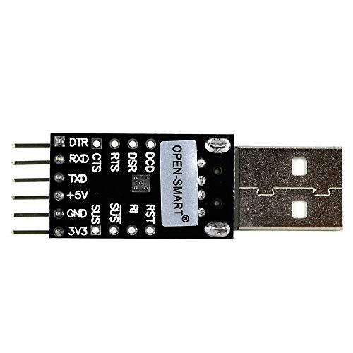 Modulo electronico CP2102 USB a TTL serie USB Módulo adaptador for UART convertidor depurador de Programador Pro Mini OPEN-SMART for A-r-d-u-i-n-o - Los productos que funcionan con el oficial de A-r-d