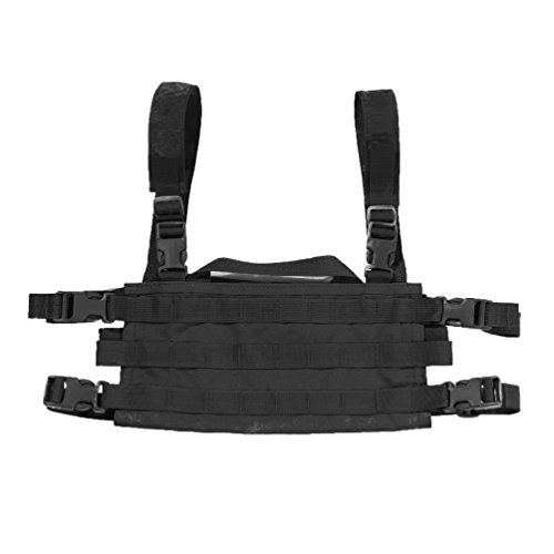 High Speed Gear AO Small Modular Chest Rig Battle, Proven & USA Made, Multicam