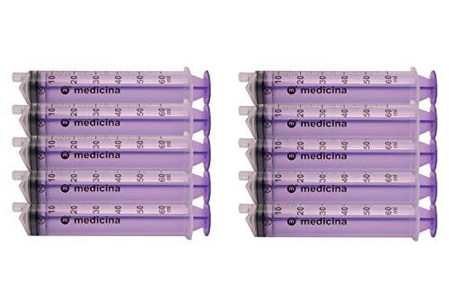 Medicina ENFit Enteral Syringe 60ml, Pack of 10