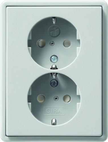 Gira 078342 dubbele veiligheidsbescherming kinderbescherming S-Color, grijs