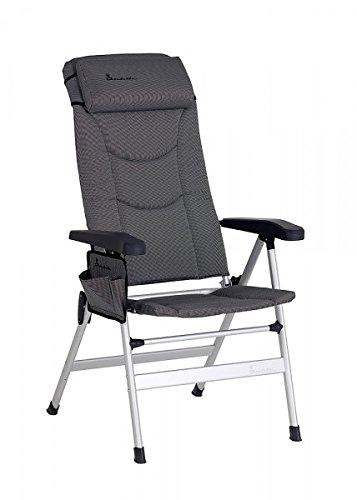 Unbekannt 2 x Isabella Stuhl Thor Komfortsessel +Tragetasche für 2 Stühle dunkelgrau + Seitentasche - Vertrieb durch Holly Produkte STABIELO - GEGEN AUFPREIS - BEINAUFLAGE - ASIN: B07B3YKQZV -