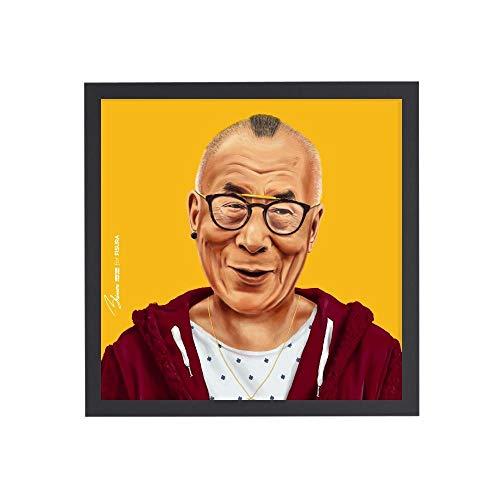 fisura - Cuadro Dalai Lama de Amit Shimoni