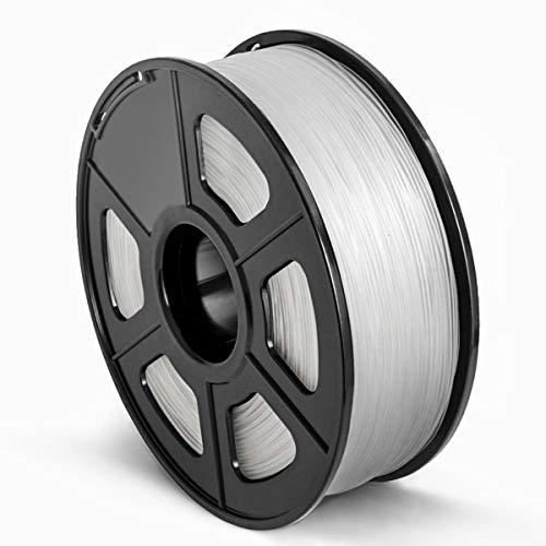 SUNLU 3D Printer Filament ABS, 1.75mm ABS 3D Printer Filament, 3D Printing Filament ABS for 3D Printer, 1kg, Transparent