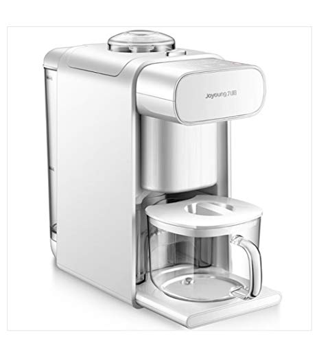 Joyoung DJ10U-K61 Automatic Self-cleaning Soy Milk Maker, 4 in 1 function,Coffee Maker, Juice Maker, Electrical Water Kettle, 300-1000ML, White
