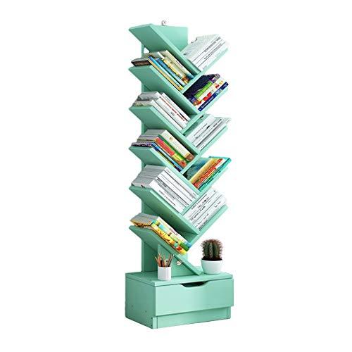 Bibliothèques Étagère Simple du Sol Au Plafond Étagère De Salon Simple en Forme d'arbre D'étudiant Support De Stockage Peu Encombrant pour La Maison Support De Stockage Multicouche Créatif