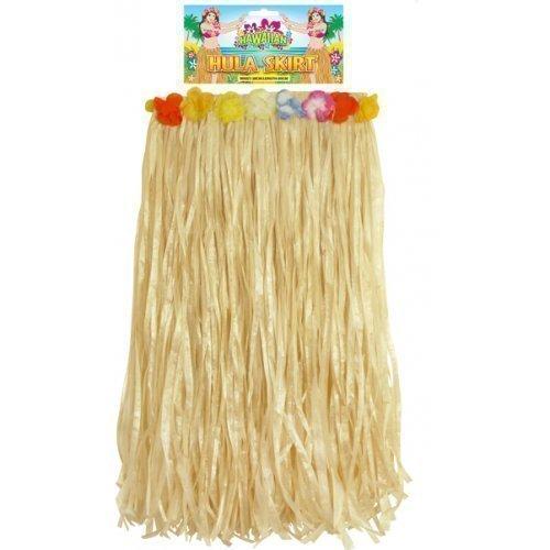 pour femmes hawaïenne Hula filles 80cm long Jupe hawaïenne Costume Déguisement 8-10-12-14