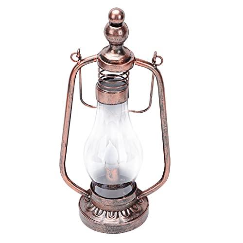 UKCOCO Lámpara de Aceite de Queroseno Solar de Hierro Lámpara Colgante de Aceite Lámpara Vintage de Queroseno Linterna Ardiente para Decoración Interior Aire Libre Patio Patio Patio