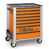 Beta 024002081 - C24S/8-O-Cajonera Móvil 8 Cajones Orange