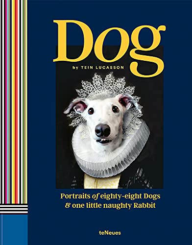 Tein Lucasson, Dog, Porträts von 88 Hunden und einem kleinen, frechen Kaninchen (Deutsch, Englisch, Italienisch): Portraits of Eighty-Eight Dogs and One Little Naughty Rabbit (Photography)