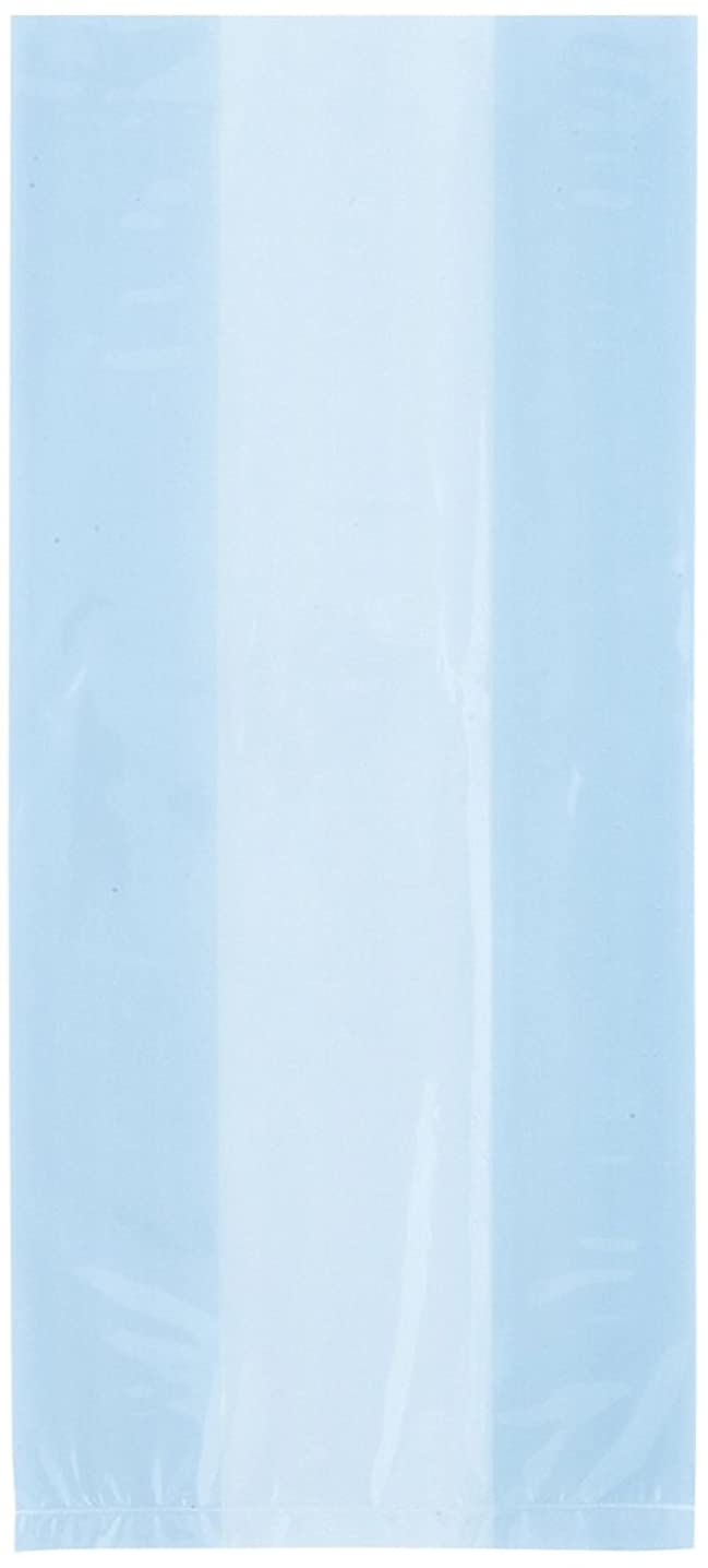 Baby Blue Cellophane Bags, 30ct