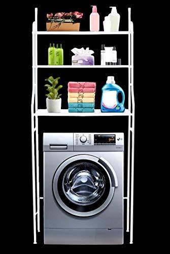 Bayli - Estantería lavadora sin taladrar 3 estantes