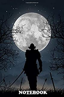 """Notebook: We Samurai Are Outnumbered Each Of Our Warriors Must B , Journal for Writing, College Ruled Size 6"""" x 9"""", 110 Pages"""