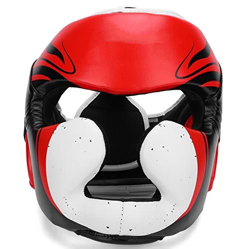 Casco de boxeo, casco de boxeo, adecuado para la escuela de artes marciales 466G   16.4Oz Mejor protección de los oídos del templo Artes marciales para boxeo