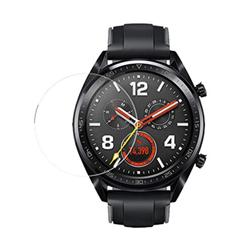 Careflection Premium 2.5D Tempered Glass for Huawei Watch GT Tempered Glass Screen Protector, Anti-Scratch, Bubble Free