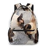 Matériau : sac à dos avec tissu hydrofuge en polyester de haute qualité ; cela peut protéger vos affaires intérieures des gouttes. Convient pour les adolescents comme sac à dos d'école pour un usage quotidien et les voyages. Occasion : notre cartable...