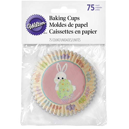 415-7902 Wilton Easter Baking Cups, 75-Count
