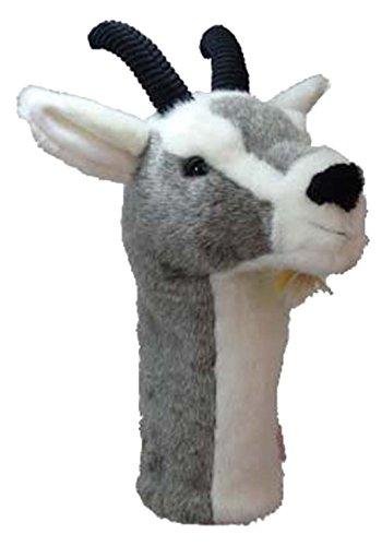 Daphne 's Goat Neuheit Golf Driver Schlägerhaube, Unisex, Goat, grau
