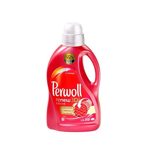 Perwoll renew 3D color Waschmittel im 4er Pack