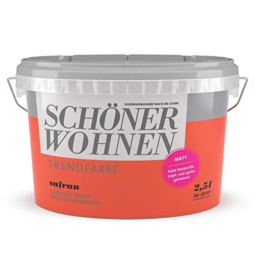 2,5L Schöner Wohnen - Trend Wandfarbe matt Safran