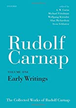 Rudolf Carnap: Early Writings: The Collected Works of Rudolf Carnap, Volume 1