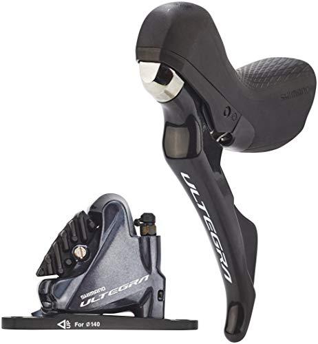 SHIMANO ULTEGRA ST-R8020/BR-R8070 Scheibenbremse J-Kit Direct VR FM 2-Fach schwarz 2020 MTB Scheibenbremse