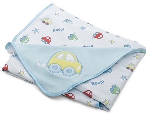 Springmaid Baby Car Motif Receiving Blanket