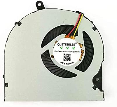 QUETTERLEE Replacement New Laptop CPU Cooling Fan Compatible for Toshiba Satellite P50 P50-A P55-A P50T-A P55T-A S50 S55 Series KSB0805HB-CL2C Fan
