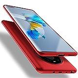 X-level für Huawei Mate 40 Pro Hülle, [Guardian Serie] Soft Flex TPU Hülle Superdünn Handyhülle Silikon Bumper Cover Schutz Tasche Schale Schutzhülle Kompatibel mit Huawei Mate40 Pro - Rot