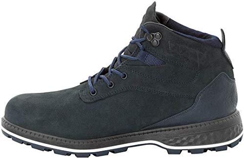 Jack Wolfskin Herren Jack Ride Texapore MID M Wasserdicht Combat Boots, Blau Dark Blue Black 1167, 44.5 EU