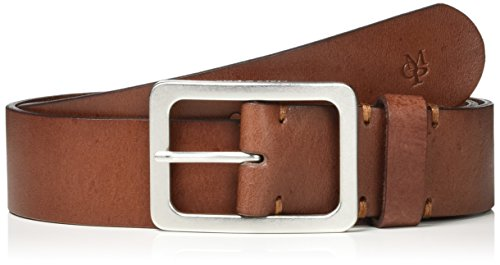 Marc O'Polo Damen Belt Gürtel, Braun (Cognac/Silver 724), 80