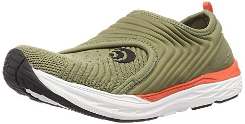 Topo Athletic Vibe Women's Recovery Shoe, Casual Walking Shoes for Women Olive/Orange
