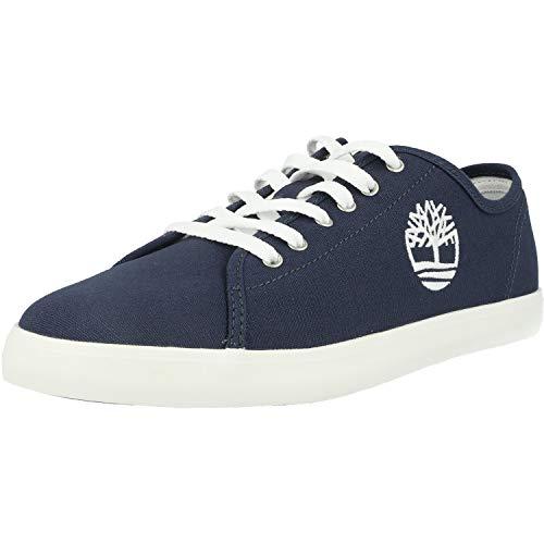 Timberland Newport bay Oxford (Junior), Sneakers Basse, Blu Navy Canvas, 36 EU